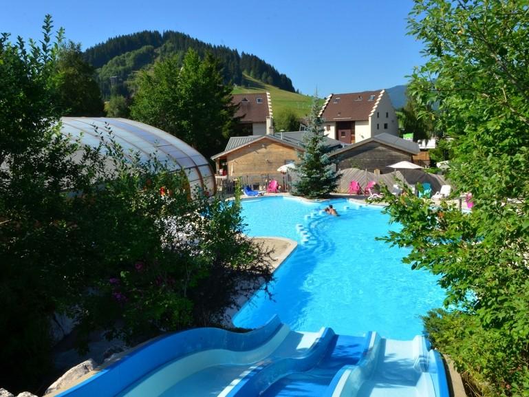 D couvrez le parc aquatique du camping les 4 montagnes - Camping dans le vercors avec piscine ...