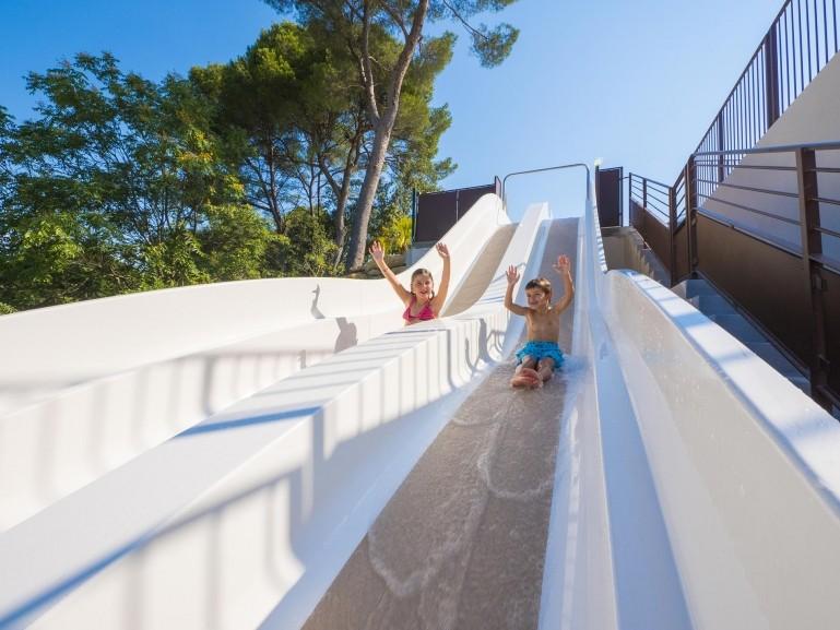Aquatic Park In Provence At The Yelloh Village Avignon Parc