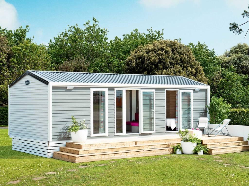 Cottage 4 personen 2 kamers 2 badkamers met airconditioning 4 bloemen all gre les fumades - Ouderlijke badkamer ...