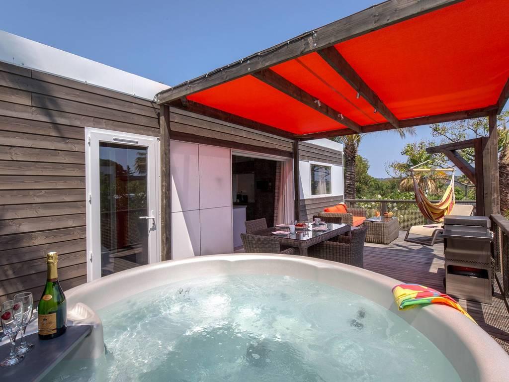 Cottage cancun 4 personen 2 kamers 2 badkamers met airconditioning premium met jacuzzi fr jus - Ouderlijke badkamer ...