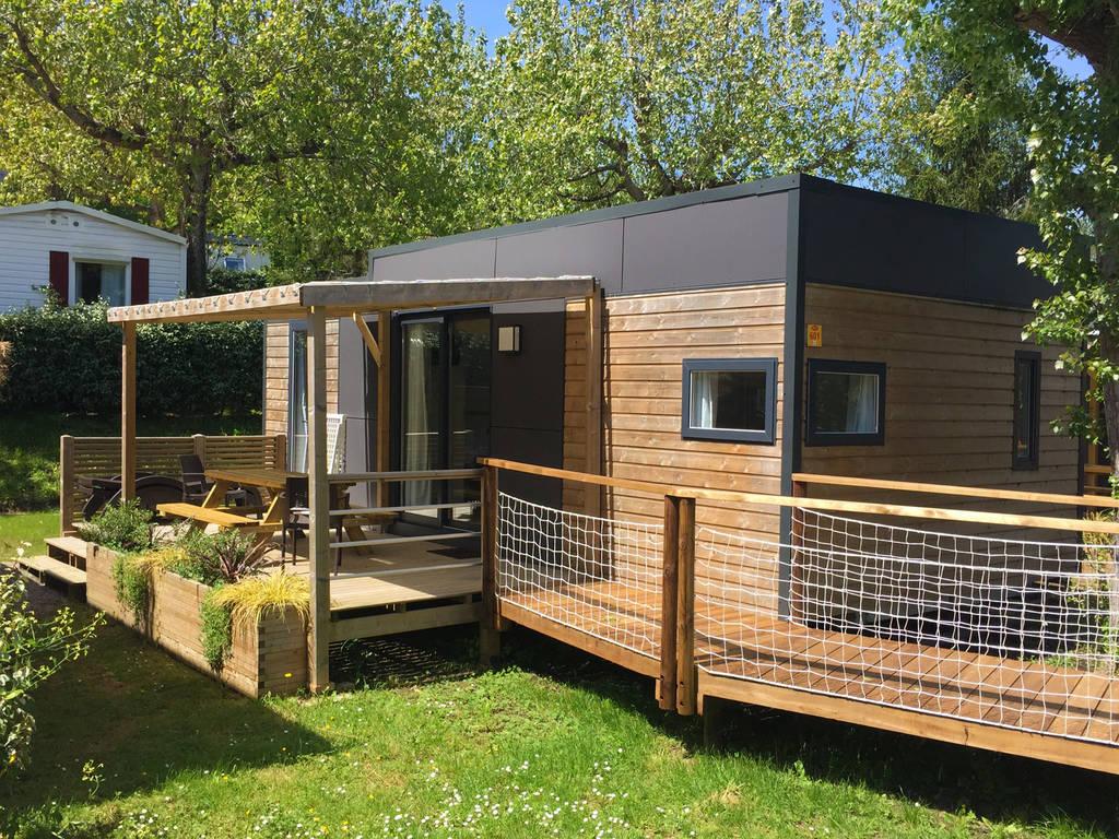 Cottage haitza 4 personen 2 kamers 2 badkamers premium biarritz wijk premium - Ouderlijke badkamer ...