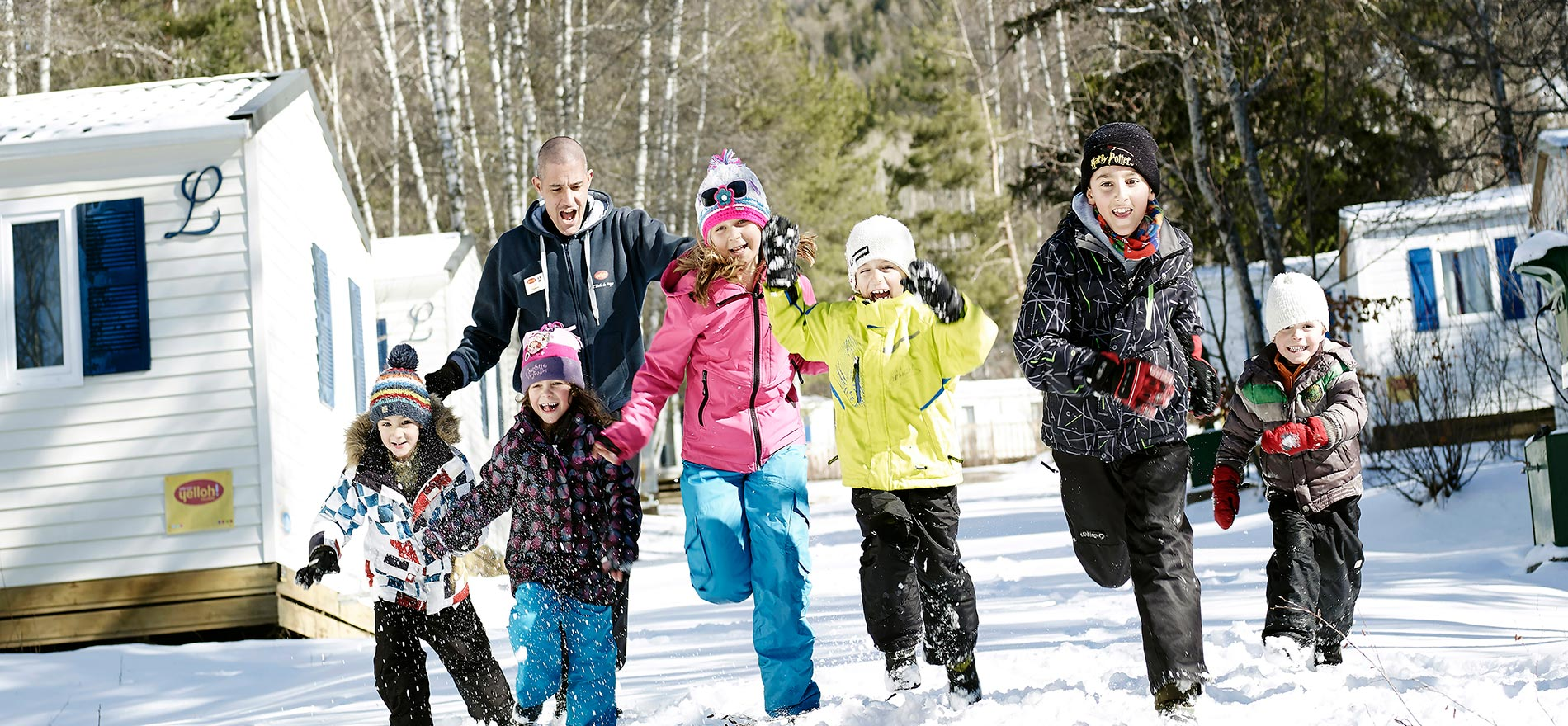 Camping Letoile Des Neiges Yelloh Village In Montclar