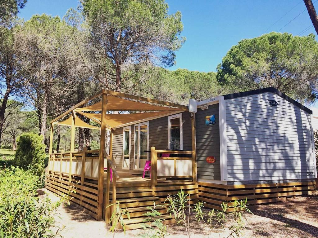 Cottage bora bora 4 personen 2 kamers 2 badkamers met airconditioning 4 bloemen puget sur - Ouderlijke badkamer ...