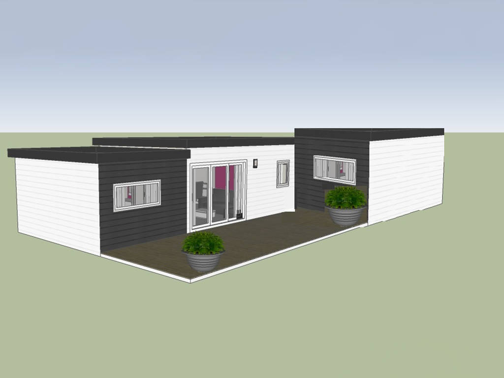 Cottage samoa suite 6 personen 3 kamers 3 badkamers met airconditioning premium puget sur - Ouderlijke badkamer ...