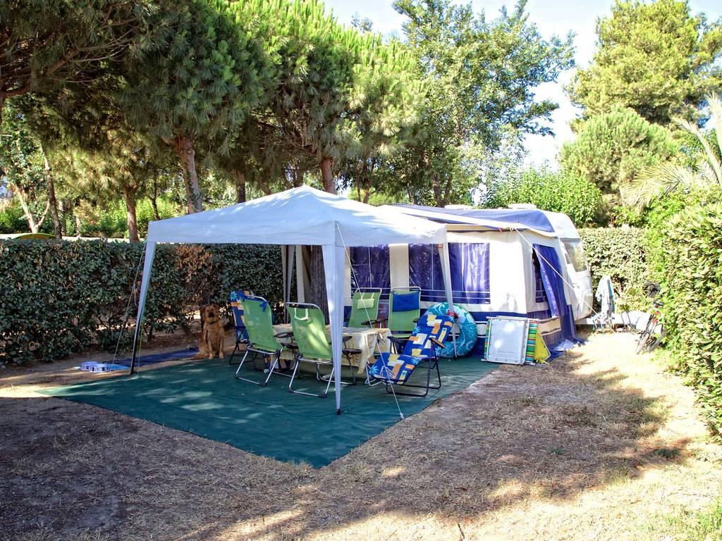kampeerplaatsen 2 bloemen wateraansluiting afvoer argel s sur mer. Black Bedroom Furniture Sets. Home Design Ideas
