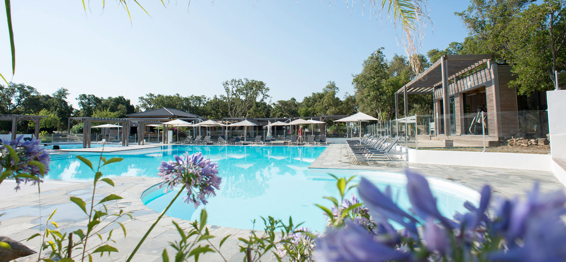 Yelloh village le campoloro in corsica sports and activities for Camping bormes les mimosas piscine
