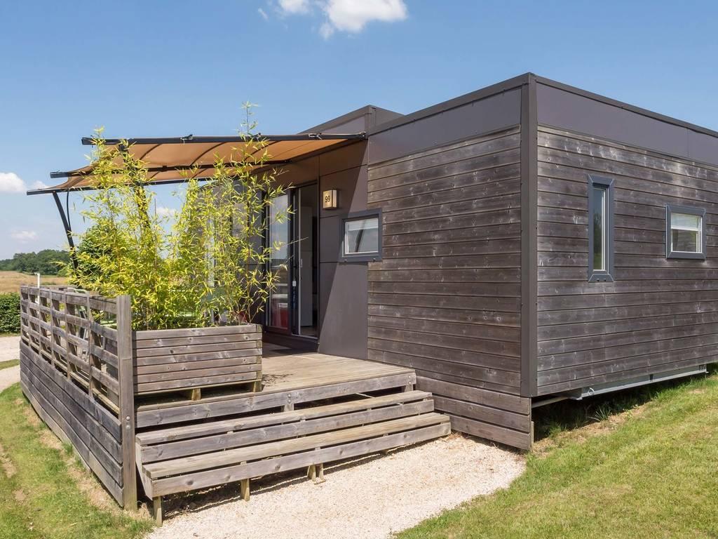 Cottage taos 5 personen 2 kamers 2 badkamers 4 bloemen champagnat - Ouderlijke badkamer ...