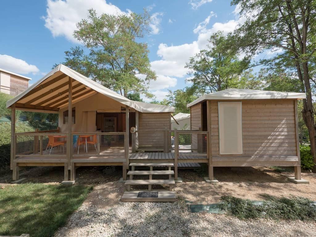 Tente Lodge 6 Personnes 3 Chambres 1 Salle De Bain Avec