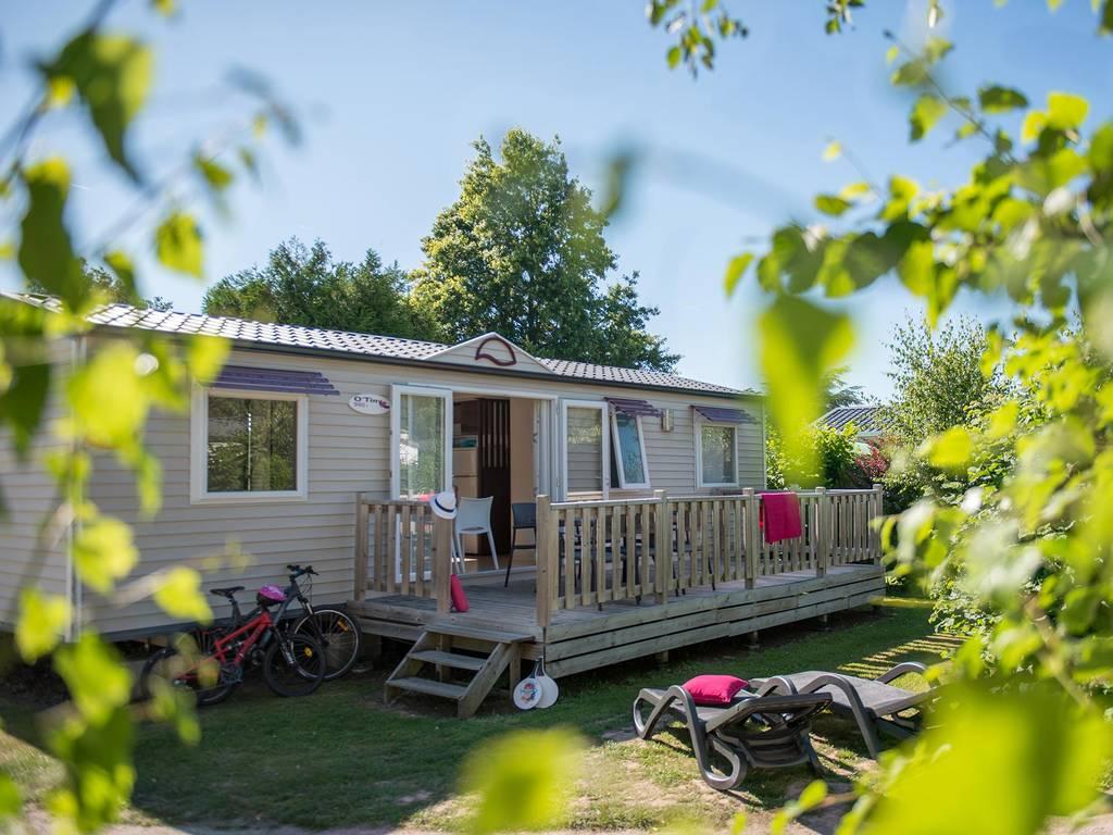 Cottage 6 personnes 3 chambres 2 salles de bain 4 fleurs for Camping le bois joli la chambre