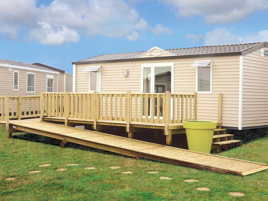 Cottage 4 personnes 2 chambres 1 salle de bain 3 fleurs for Camping le bois joli la chambre