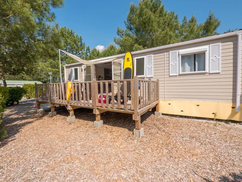 Cottage sunset 6 personen 3 kamers 2 badkamers 4 bloemen lacanau oc an onze andere accommodaties - Ouderlijke badkamer ...