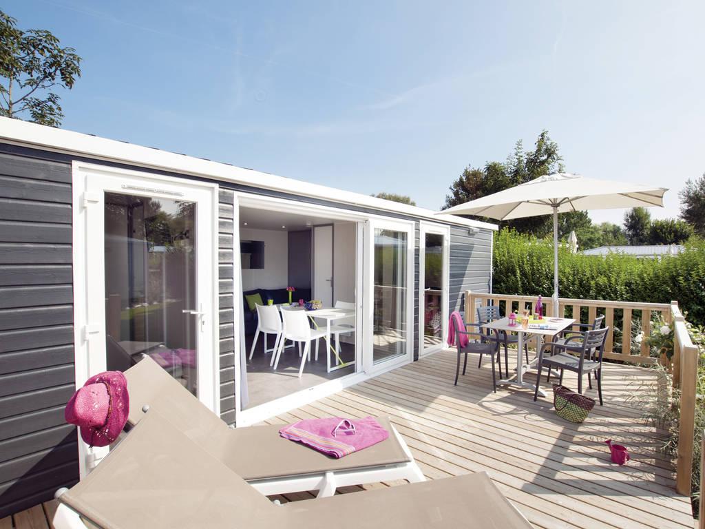 Cottage 4 personen 2 kamers 2 badkamers premium morlaix wijk cara bes - Ouderlijke badkamer ...