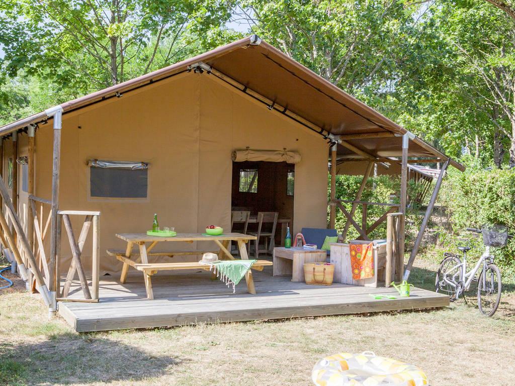 Zelt 2 Zimmer : Zelt lodge safari personen zimmer saumur
