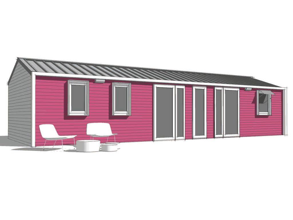 Cottage 6 personen 3 kamers 2 badkamers 4 bloemen saumur - Ouderlijke badkamer ...