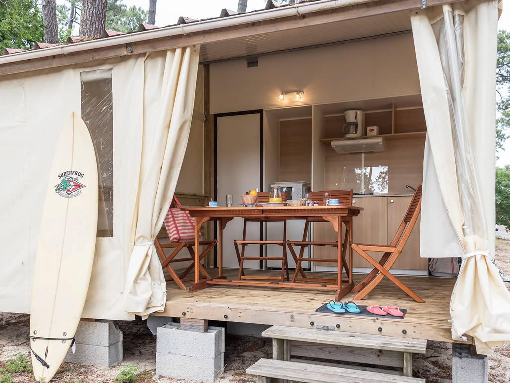 Zelt 2 Zimmer : Zelt cottage tit home personen zimmer bad blumen