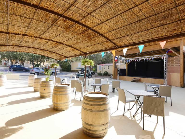 Camping luberon parc yelloh village charleval en provence - Accrobranche salon de provence ...
