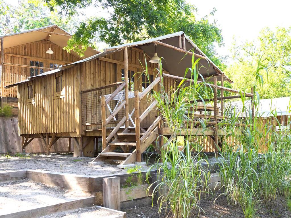 Cabane bellande 4 personnes 2 chambres biscarrosse nos for Cabane exterieur