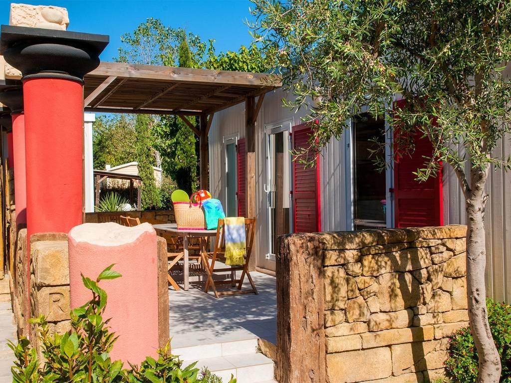 Cottage key west 4 personen 2 kamers 2 badkamers met airconditioning premium cap d agde - Ouderlijke badkamer ...