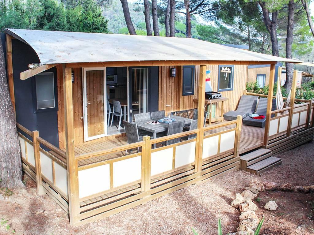Mobilhome panoramique 6 personnes 3 chambres 2 salles de bain climatis e premium la roquette - La table du village auribeau sur siagne ...