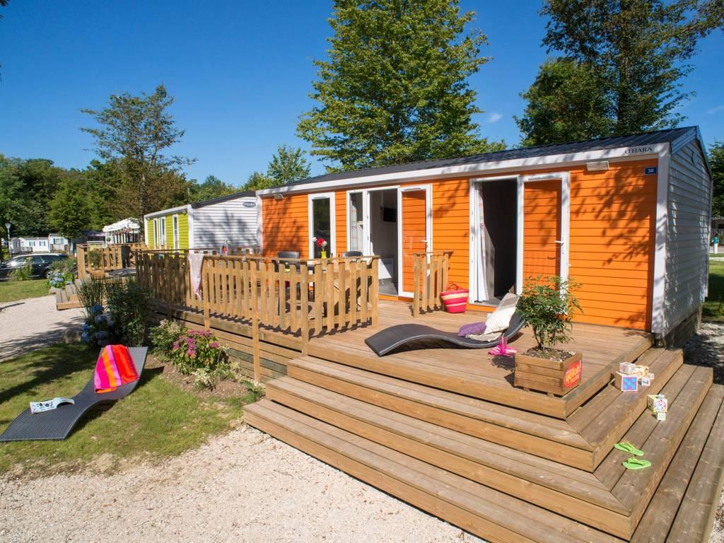 Cottage 4 personen 2 kamers 2 badkamers 4 bloemen eclaron - Ouderlijke badkamer ...