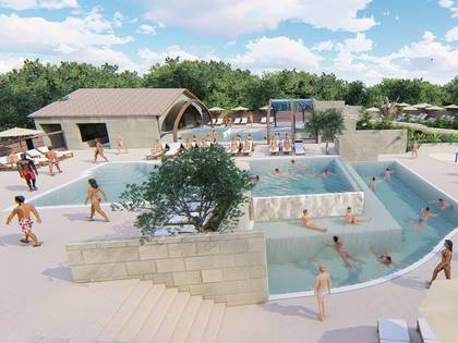 Camping yelloh saint emilion yelloh village in saint emilion - Campgrounds in ohio with swimming pools ...