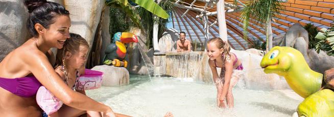 Die anlagen in unseren campings yelloh village for Camping cote belge avec piscine