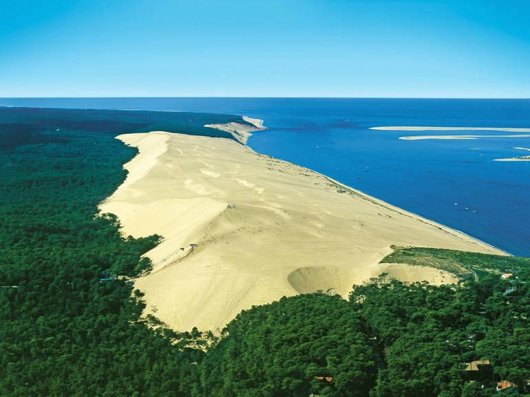 Camping village panorama du pyla services proximit - Camping dune du pyla avec piscine ...