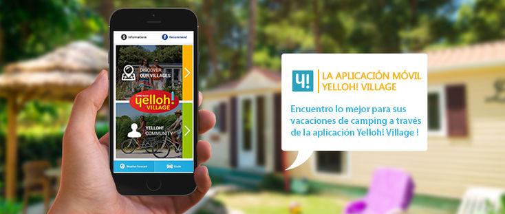 Aplicación móvil Yelloh! Village