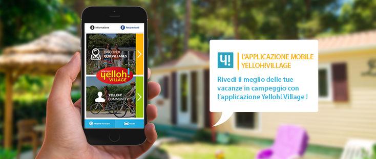 Applicazione mobile Yelloh! Village